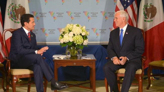 De qué no hablaron Peña Nieto y Pence en la Cumbre