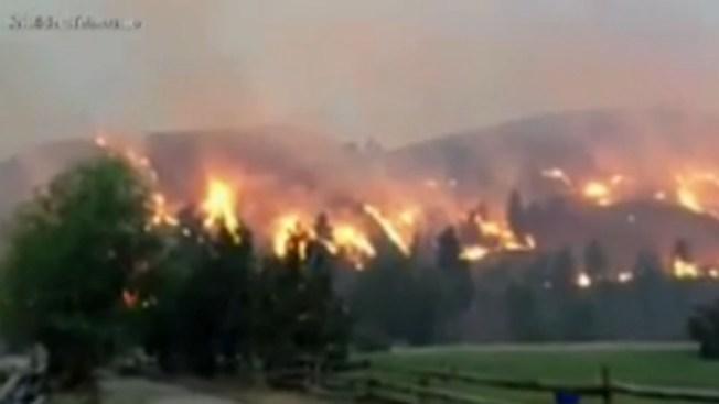 Los incendios azotan al estado de Washington
