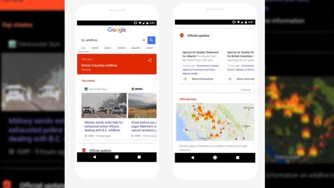 Google lanza nueva herramienta para emergencias