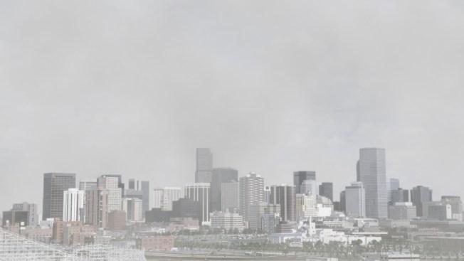 Mala calidad del aire sobre el Este de Colorado