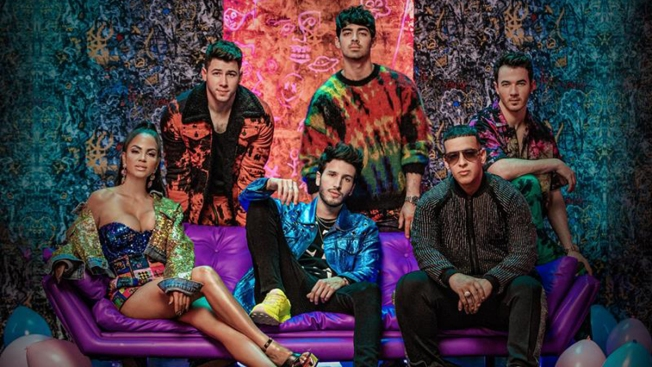 "Sebastián Yatra, Jonas Brothers, Daddy Yankee y Natti Natasha lanzan colorido sencillo bilingüe, ""Runaway"""