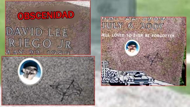 Vandalizan lápida en el cementerio de Greeley