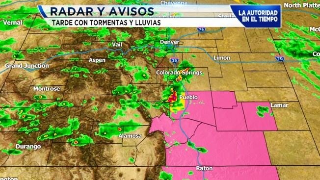 Vigilancia por tiempo severo al sureste de Colorado
