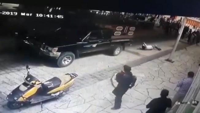 Por incumplido, intentan secuestrar a alcalde