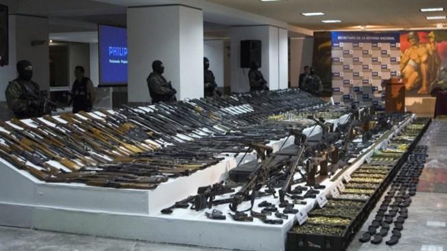 Trágico tráfico ilegal: 2 millones de armas en 10 años