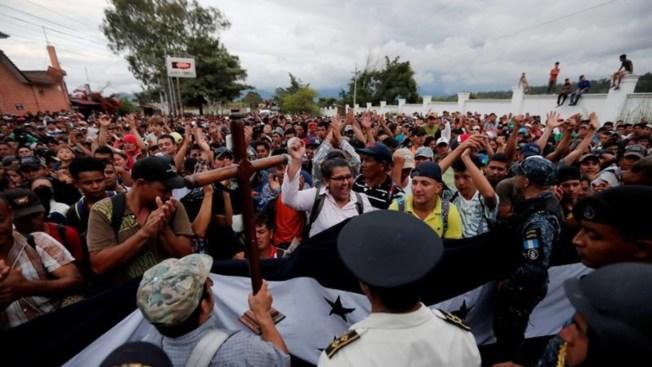 México y Honduras, dispuestos a frenar la migración