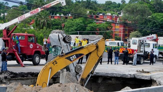 Se determinarán responsabilidades por socavón en Paso Exprés: Ruiz Esparza