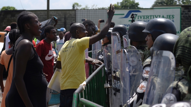 Suspenden actividad en sede migratoria en Chiapas