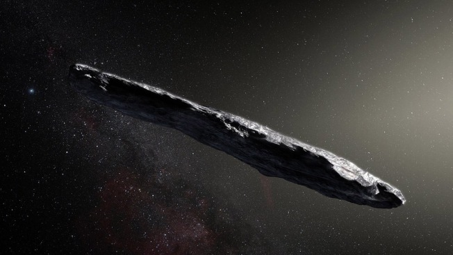 """Buscan vida en extraño objeto que """"vuela"""" por el espacio"""