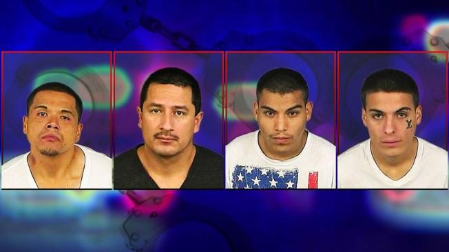 Caen 4 presuntos ladrones de bancos en Denver
