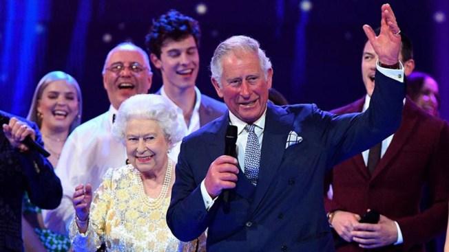 La Reina Isabel II celebra cumpleaños con un concierto