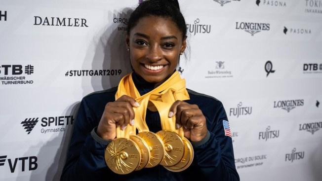Histórico: Simone Biles se convierte en la gimnasta más galardonada con 25 medallas