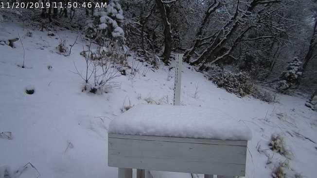 Precipitaciones en el valle y aviso de tormenta invernal para las montañas