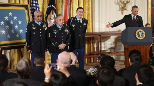 Máximo honor para veteranos olvidados