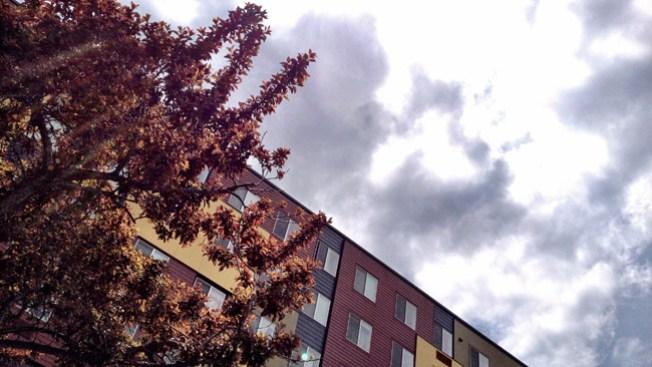 Día fresco, lluvioso en Denver