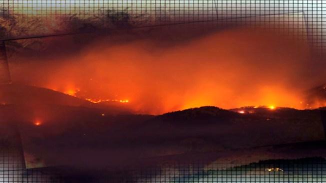 Fuego devora área forestal
