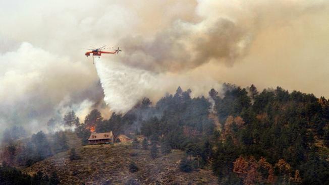 Incendio forestal se propaga