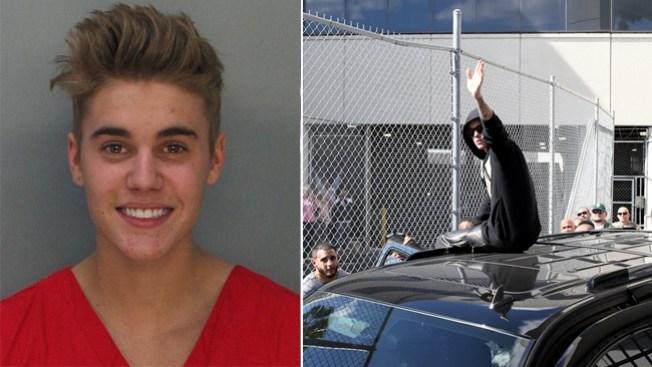 Justin Bieber sale de la cárcel de Miami