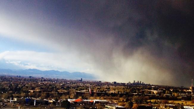 Nieve y viento regresan a Colorado