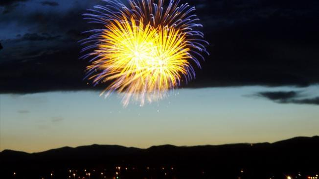 Dónde ver fuegos artificiales en Colorado