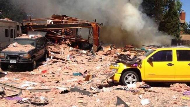 Encuentran cuerpo tras explosión