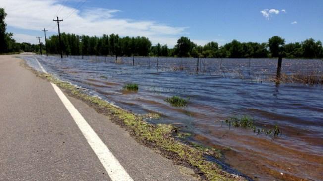 Alerta por inundación en el norte de Colorado
