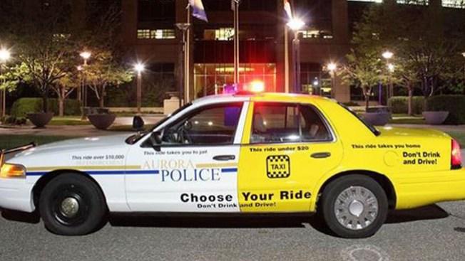 Taxi Policía listo para patrullar calles