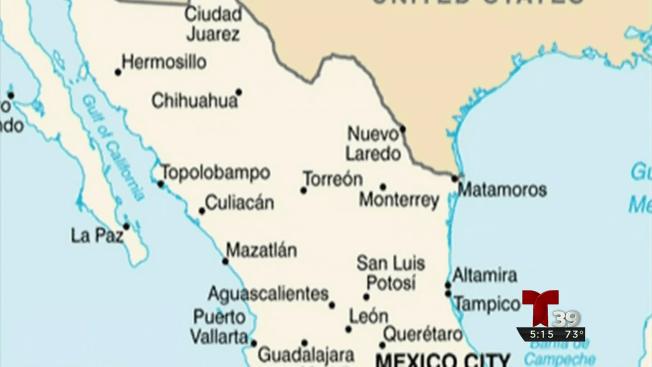 Advertencia antes de viajar a México