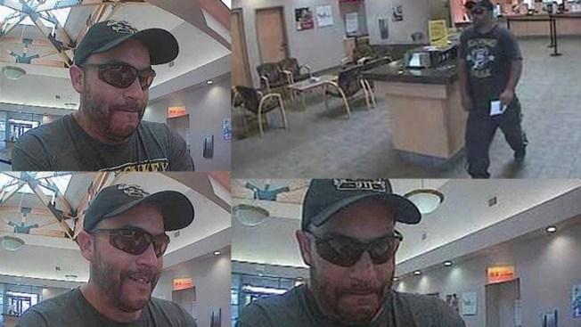 Buscan sospechoso de robar banco en Aurora