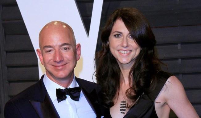 Bezos y Mackenzie