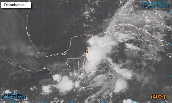 Se forma la primera tormenta subtropical de la temporada