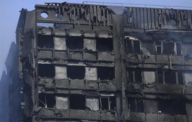 Elevan a 17 los muertos en el incendio de Londres