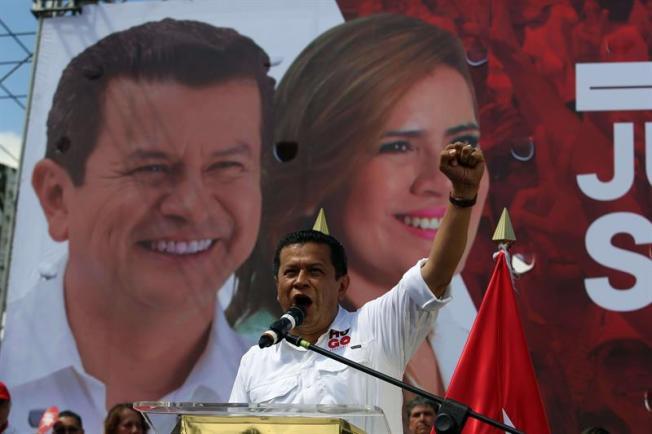 El candidato del FMLN apela a la justicia social para gobernar a El Salvador
