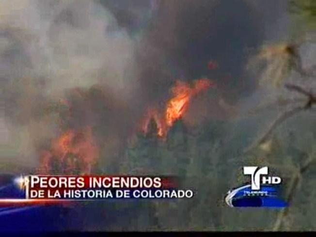 Incendios en Colorado