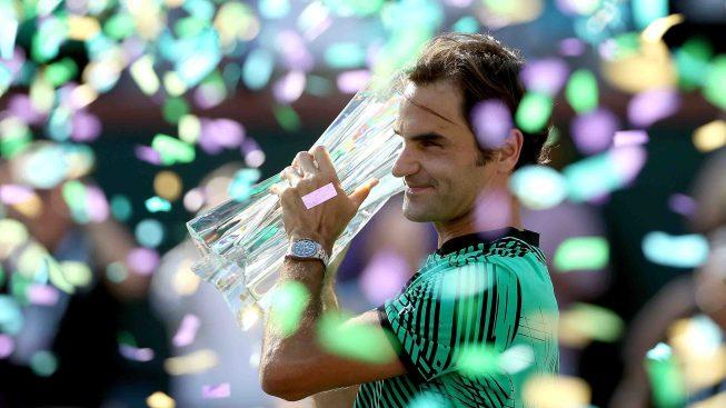 El eterno Federer gana un nuevo título en Indian Wells