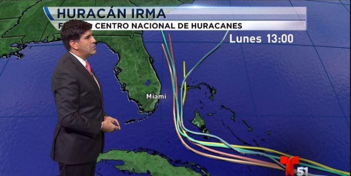 Espagueti, la predicción tras la fuerza descomunal de Irma