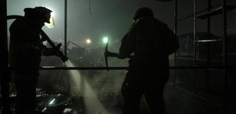 Detalles forenses de incendio donde murieron dos hombres