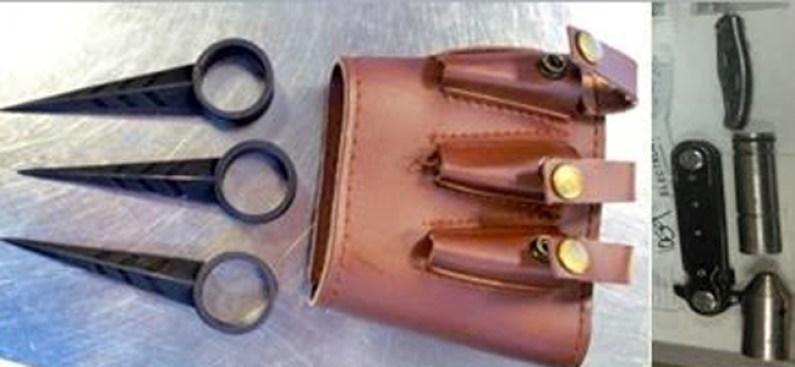 Fotos: Armas confiscadas en aeropuertos de EEUU