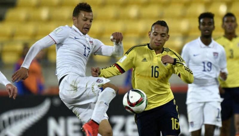 Colombia perdió contra EE.UU y se despidió del Mundial Sub20